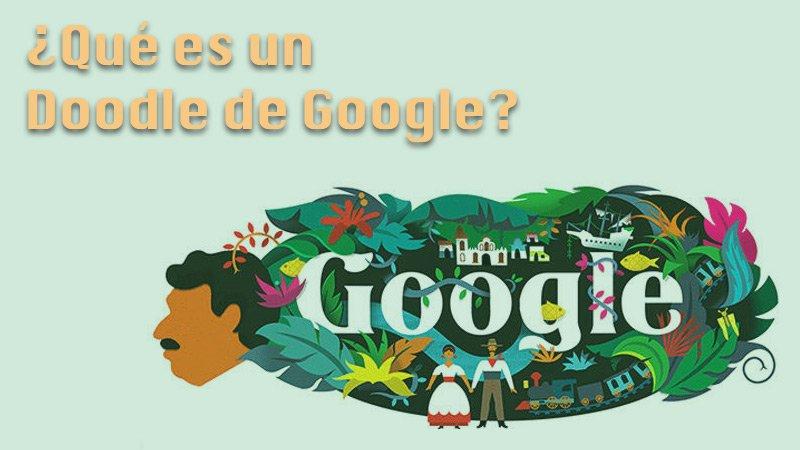 ¿Qué es un Doodle de Google?