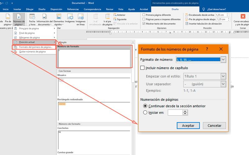 Pasos para hacer una portada en Microsoft Word para tus documentos más importantes insertar número de página