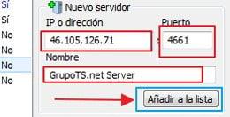 Agregar servidor individual emule 2018