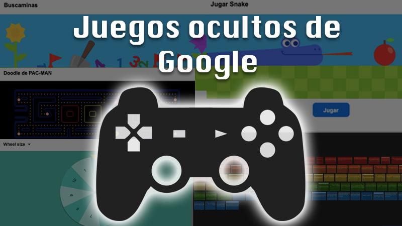Lista de los mejores juegos ocultos de Google