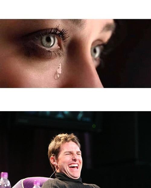 Plantilla de memes de llorar y reír
